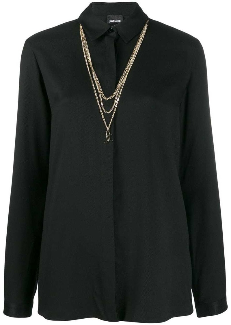 Just Cavalli chain shirt