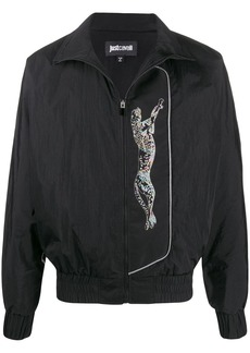 Just Cavalli cheetah zip-up jacket