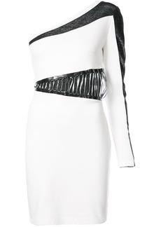 Just Cavalli colour-block asymmetric dress