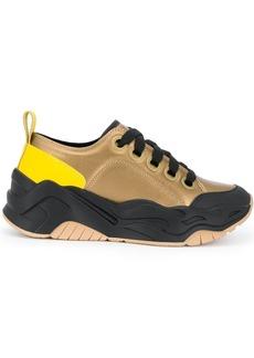 Just Cavalli colour block sneakers