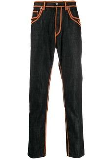 Just Cavalli contrast stitch jeans