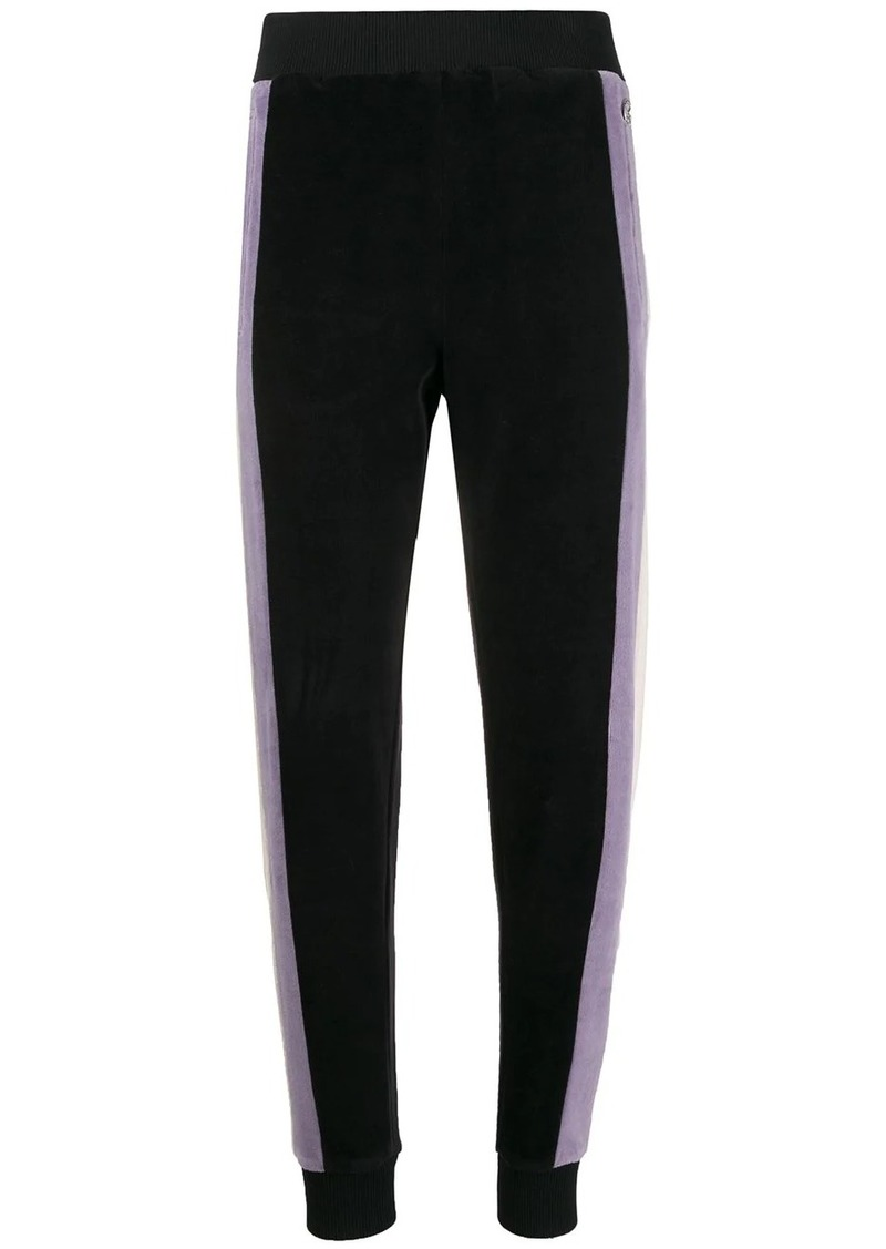 Just Cavalli contrasting side panel joggers