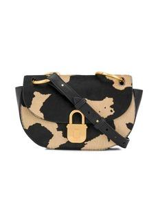 Just Cavalli cow print shoulder bag