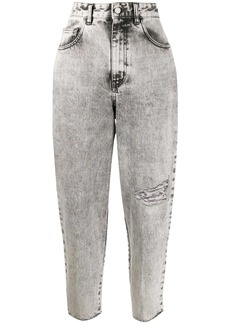 Just Cavalli cropped boyfriend jeans