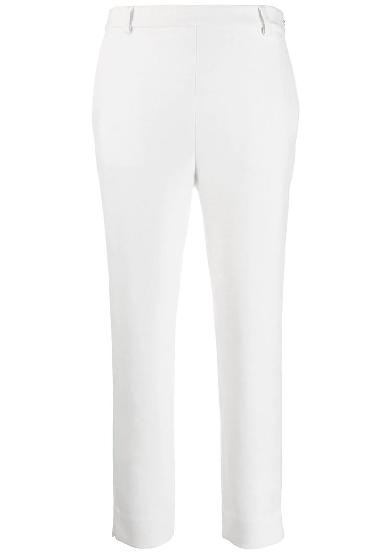 Just Cavalli cropped skinny-fit trousers