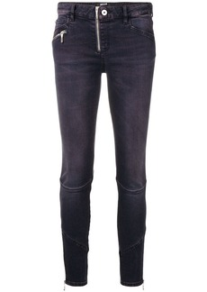 Just Cavalli cropped skinny jeans