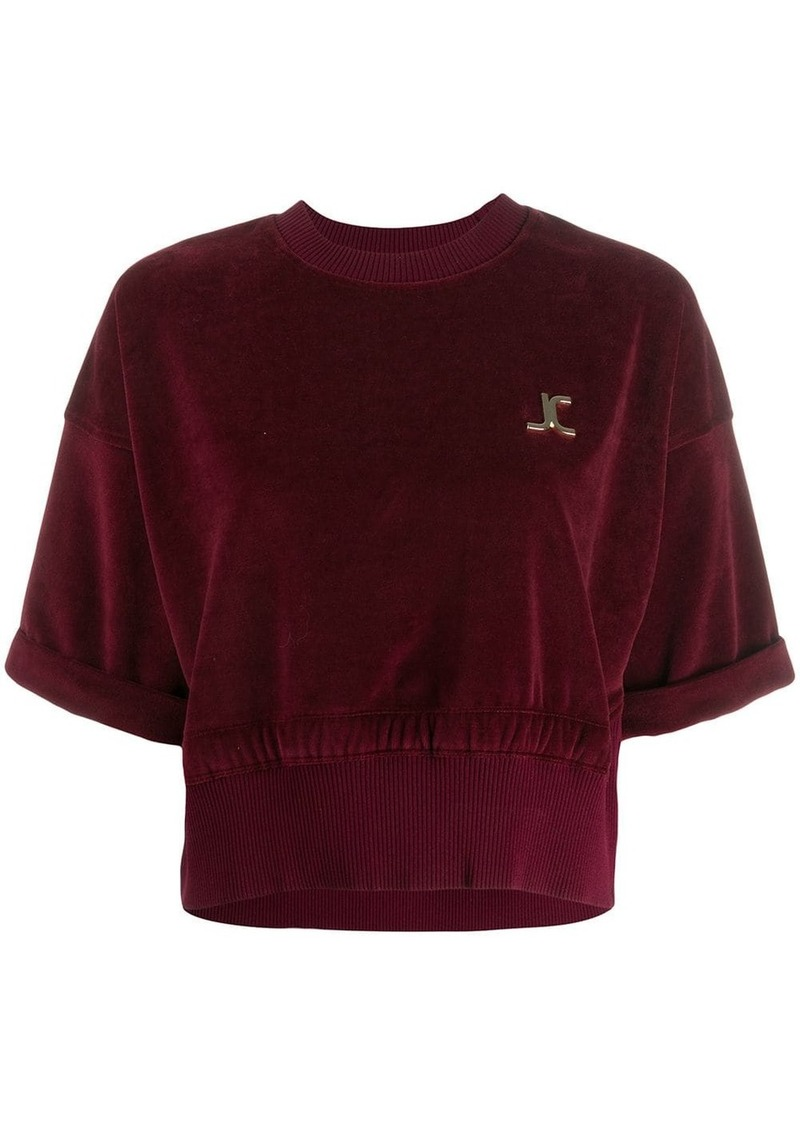 Just Cavalli cropped sweatshirt