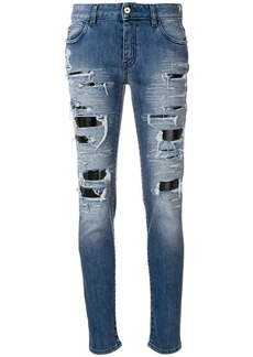 Just Cavalli distressed boyfriends jeans