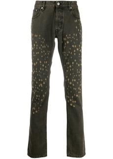 Just Cavalli distressed slim jeans