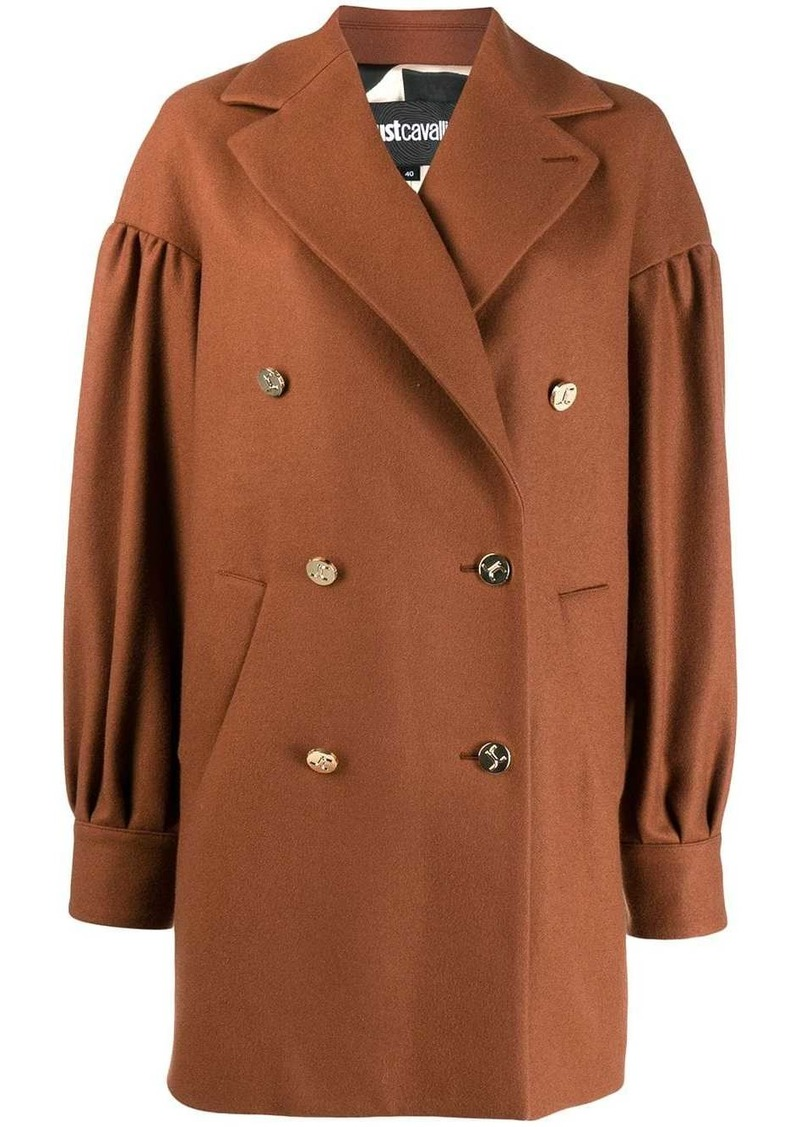 Just Cavalli double-breasted coat