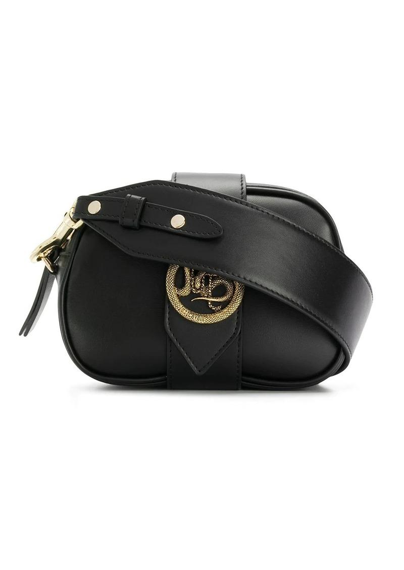 Just Cavalli dragon buckle shoulder bag