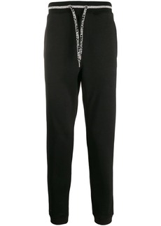 Just Cavalli drawstring logo track pants