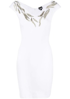 Just Cavalli embellished detail dress