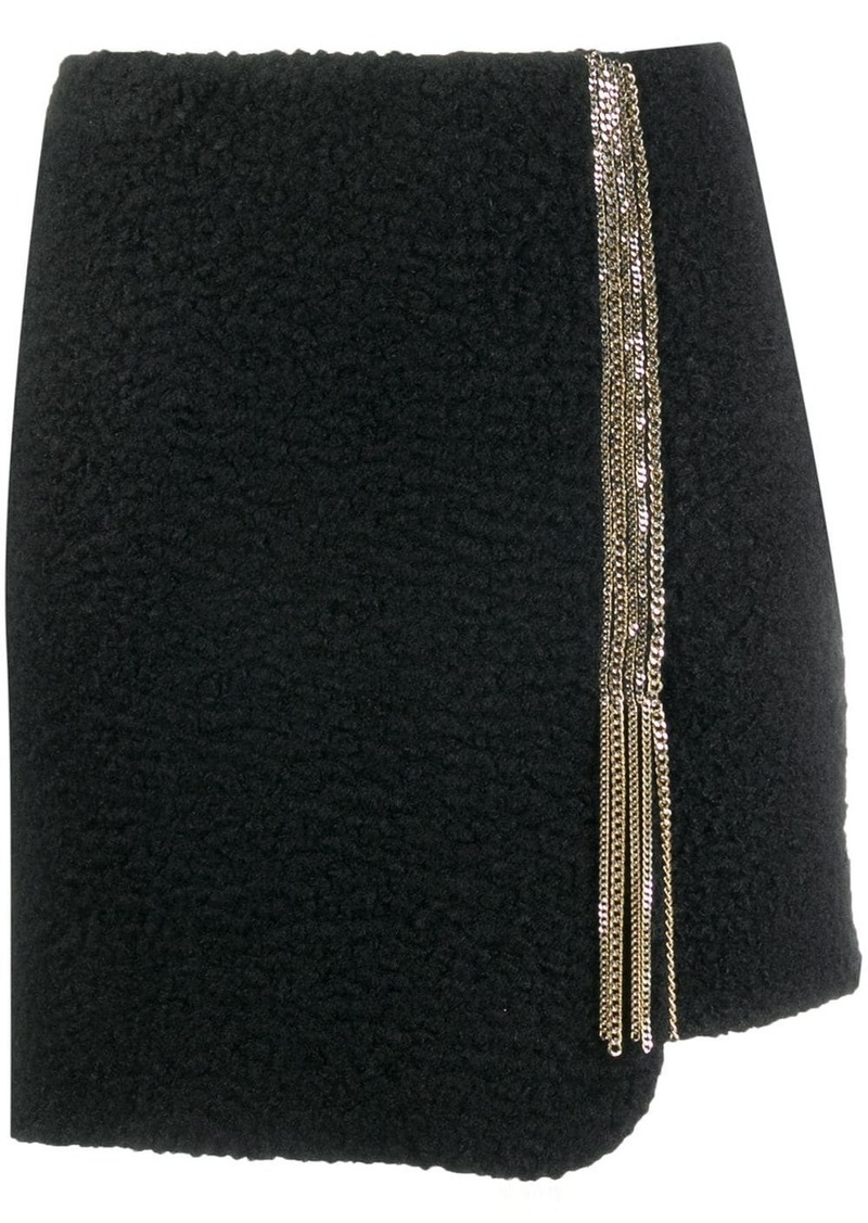 Just Cavalli embellished short skirt