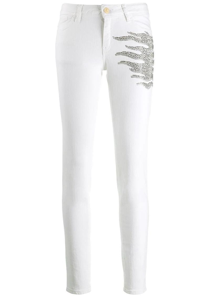 Just Cavalli embellished skinny jeans