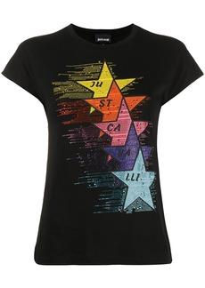 Just Cavalli embellished star T-shirt