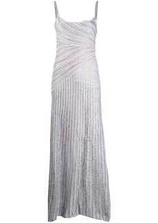 Just Cavalli embroidered maxi dress