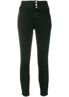 Just Cavalli eyelet detail skinny trousers