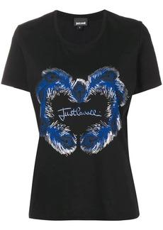 Just Cavalli feather logo T-shirt