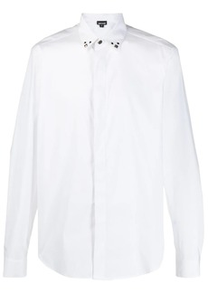 Just Cavalli fitted stud embellished shirt