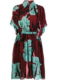 Just Cavalli floral print midi dress