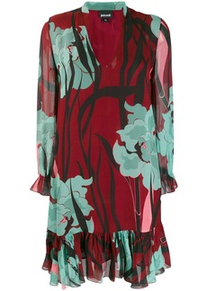 Just Cavalli flower print dress
