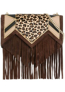 Just Cavalli fringed crossbody bag