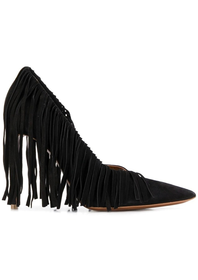 Just Cavalli fringed stiletto pumps
