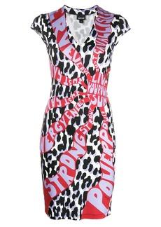 Just Cavalli graphic-print mini bodycon dress