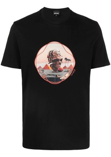Just Cavalli graphic print short-sleeved T-shirt
