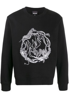 Just Cavalli graphic print sweatshirt