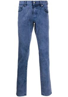 Just Cavalli high rise straight-leg jeans