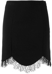 Just Cavalli high waisted lace skirt