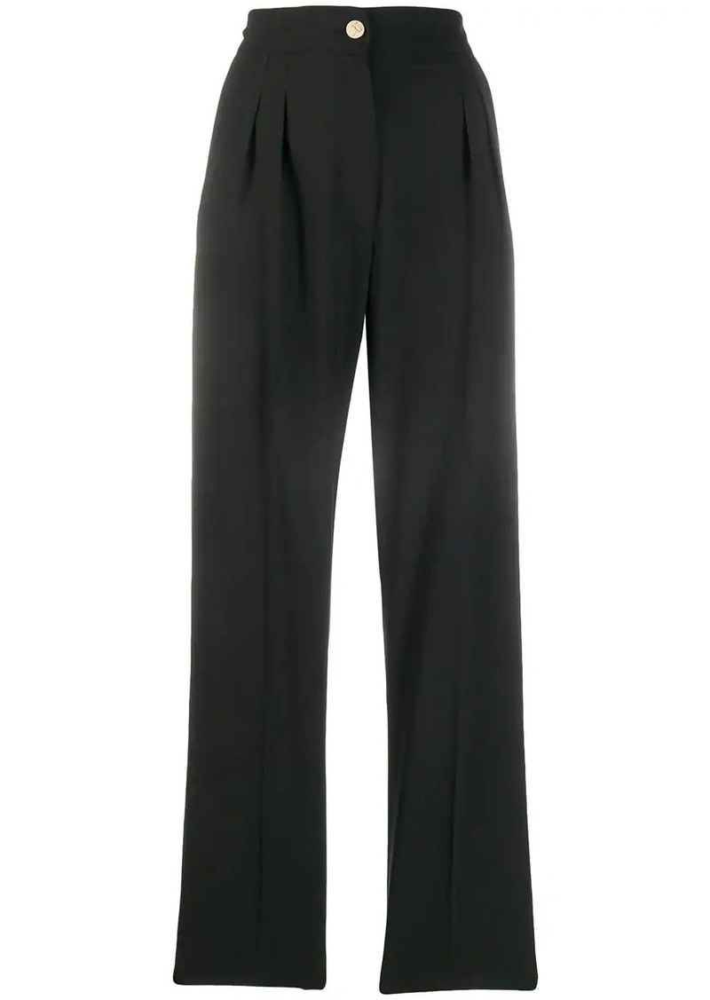 Just Cavalli high waisted tailored trousers