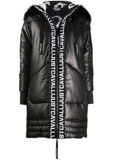 Just Cavalli hooded puffer jacket