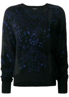 Just Cavalli intarsia sweater
