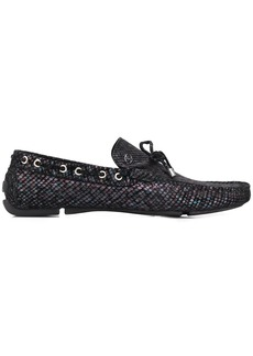 Just Cavalli iridescent loafers