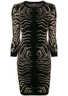 Just Cavalli animal print dress - Black