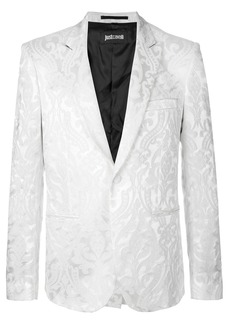 Just Cavalli brocade blazer - White