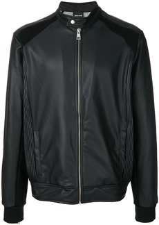 Just Cavalli classic bomber jacket - Black