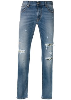 Just Cavalli distressed effect jeans - Blue