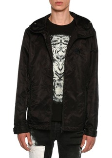 Just Cavalli Embroidered Wind-Resistant Jacket