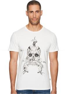 Just Cavalli Feathered Skull T-Shirt
