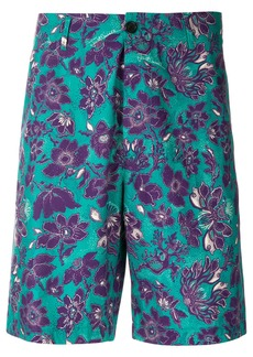 Just Cavalli floral print shorts - Blue