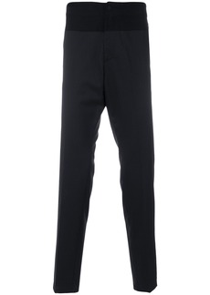 Just Cavalli high waist tailored trousers - Black