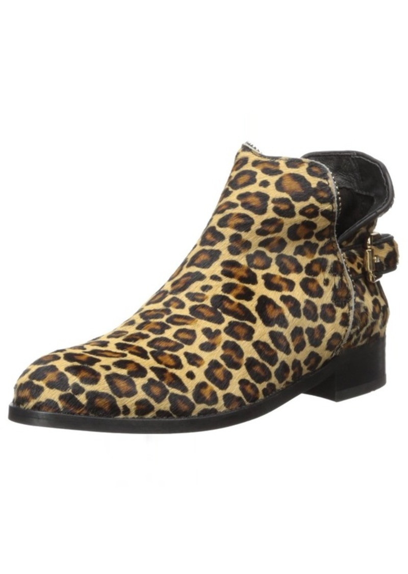 Just Cavalli Leopard Pony Hair Ankle Boot  41 (US Women's ) M