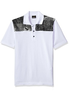Just Cavalli Men's Classic Polo  L