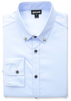 Just Cavalli Men's Classic Slim Fit Shirt
