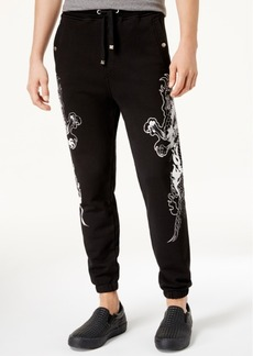 Just Cavalli Men's Dragon-Detail Sweatpants