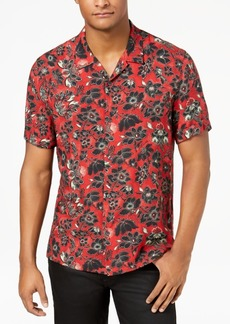 Just Cavalli Men's Floral-Print Shirt